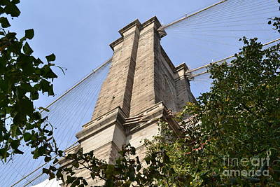 Photograph - Brooklyn Bridge2 by Zawhaus Photography