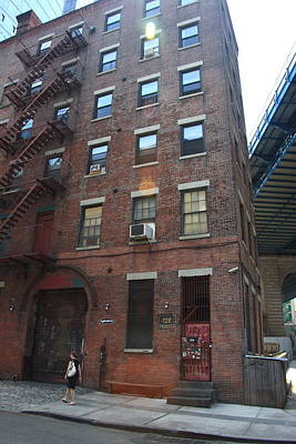 Photograph - Brooklyn New York - 126 Front Street. by Frank Romeo