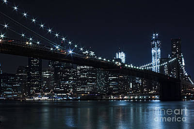 Photograph - Brooklyn Nights by Andrew Paranavitana