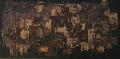 James Johnson Painting - Brown And Brown by James Johnson