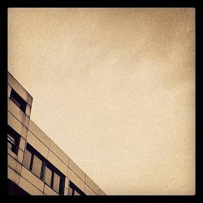Bronze Wall Art - Photograph - #brown #bronze #sky #building by Vassilis Valimitis
