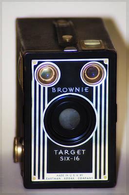 Brownie Digital Art - Brownie Target Six-16 by Bill Cannon