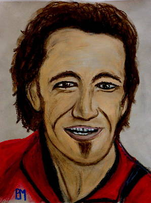 Bruce Art Print by Pete Maier