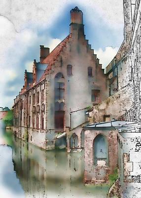 Photograph - Brugge   147 by Carol Kinkead