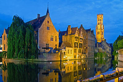 Photograph - Brugge  by David Freuthal