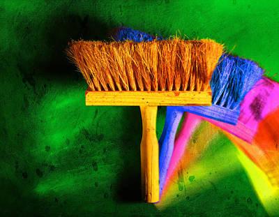 Brush Art Print by Mauro Celotti