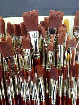 Photograph - Brush Stack by Ed Lukas