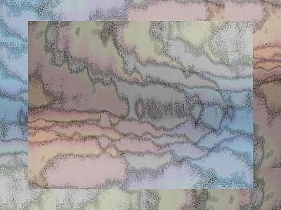 Digital Art - Brushed Pastel 1 by Tim Allen