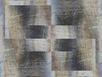Digital Art - Brushed Strokes 1 by Tim Allen