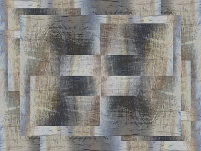 Digital Art - Brushed Strokes 2 by Tim Allen