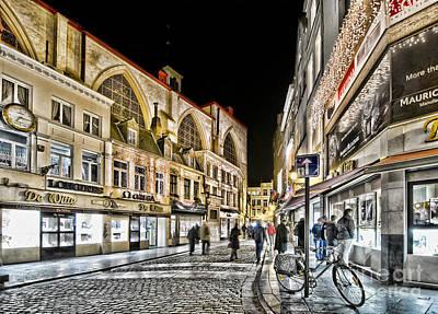Longines Photograph - Brussels Street by Bogdan Ivan