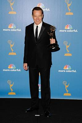 Academy Of Television Arts Photograph - Bryan Cranston In The Press Room by Everett
