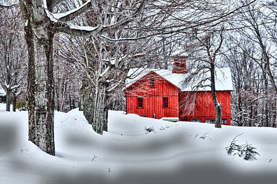 Photograph - Bryant Barn by Fred LeBlanc