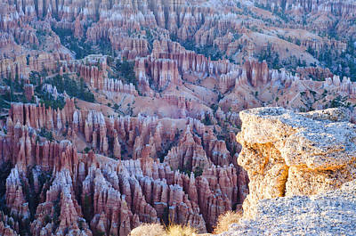 Bryce Point Art Print by Joseph Rossi