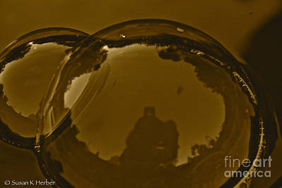 Photograph - Bubble Reflections by Susan Herber