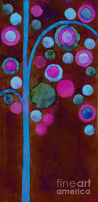 Aimelle Painting - Bubble Tree - W02d by Variance Collections
