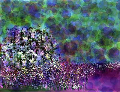 Designers Choice Painting - Bubbles  by Don Wright