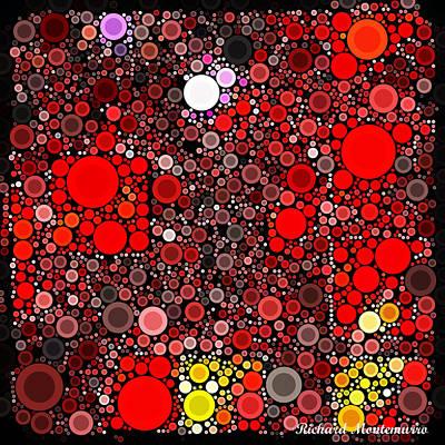 Bubbles In A Square Original by Richard  Montemurro