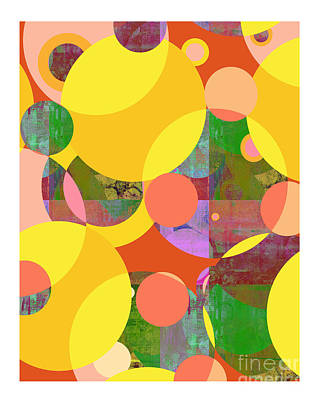 Bubblicious Iv Art Print by Ricki Mountain