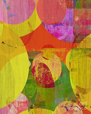 bubblicious VI Art Print by Ricki Mountain
