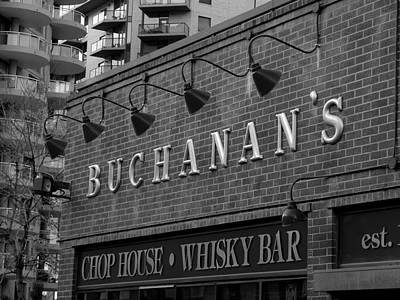 Photograph - Buchanan's Chop House And Whisky Bar by Stuart Turnbull