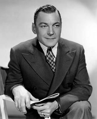 Lapel Photograph - Buck Jones, Paramount Pictures by Everett