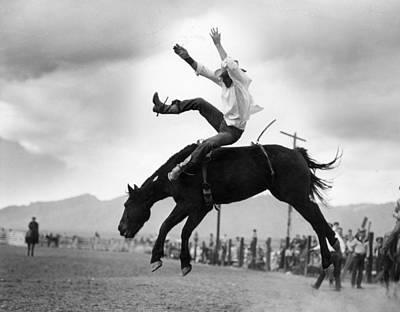 Working Cowboy Photograph - Buckeroo by Keystone