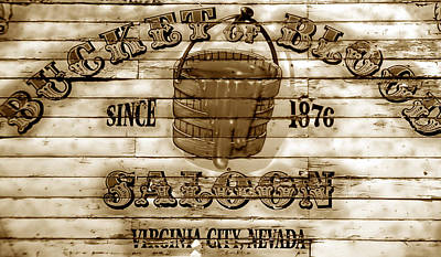 Old West Saloon Photograph - Bucket Of Blood Saloon by David Lee Thompson