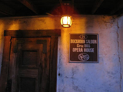 Buckhorn Saloon And Opera House Print by FeVa  Fotos