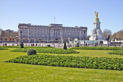 Buckingham Palace  Art Print by David French