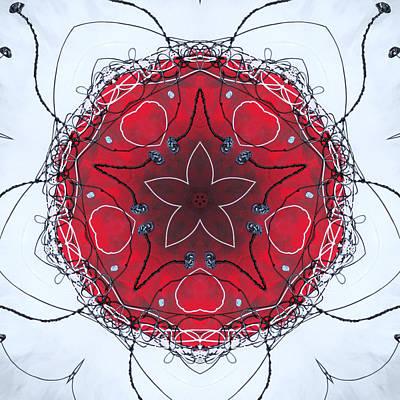Digital Art - Bud Star by Kathy Sheeran