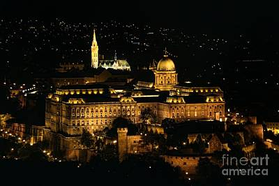 Budapest Tours Photograph - Buda Castle by Mariola Bitner