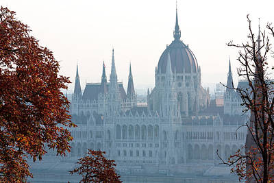 Photograph - Budapest Parliament  by Shirley Mitchell