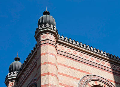 Photograph - Budapest Synagogue by Shirley Mitchell