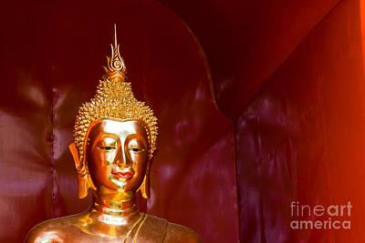 Buddha Bliss Art Print