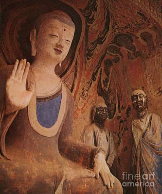 The Buddha Photograph - Buddha, China by Photo Researchers
