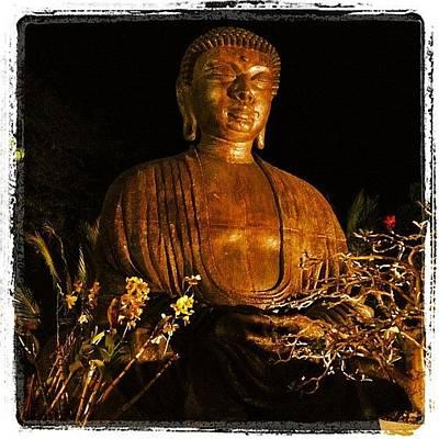 Golden Wall Art - Photograph - Buddha by Darice Machel McGuire