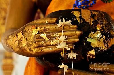 Buddhist Photograph - Buddha - Devotional IIi by Dean Harte