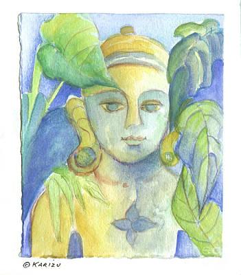 Buddha Art Print by Karin Zukowski