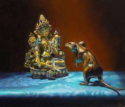 Buddhas Art Print by Jeffrey Hayes