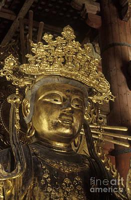 Photograph - Buddhist Deity - Todaiji Temple Japan by Craig Lovell