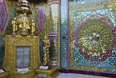 Photograph - Buddhist Mosaic by Michele Burgess