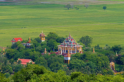 Photograph - Buddist Temple by David Freuthal