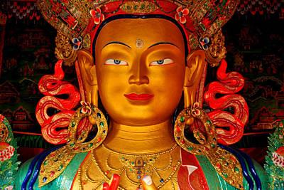 Budha Print by Saira Ks