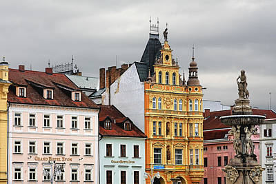 Budejovice Photograph - Budweis - Pearl Of Bohemia - Czech Republic by Christine Till