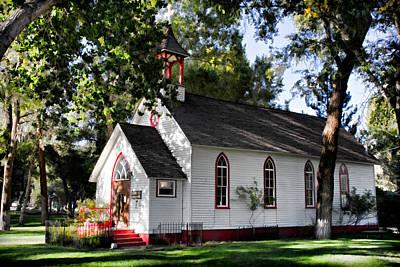 Photograph - Buena Vista's Park Chapel by Lana Trussell