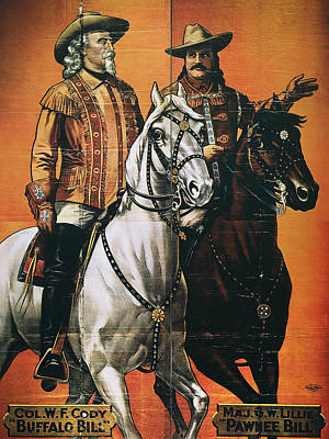 Buffalo Bill: Poster, 1910 Art Print