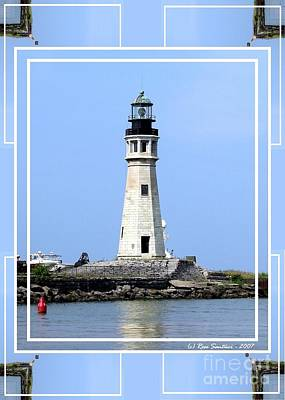 Photograph - Buffalo Main Lighthouse by Rose Santuci-Sofranko
