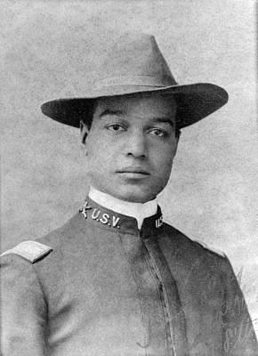 Buffalo Soldier. 2nd Lt. Frank R Art Print