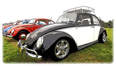 Hot Rod Photograph - Bug Show by Steve McKinzie